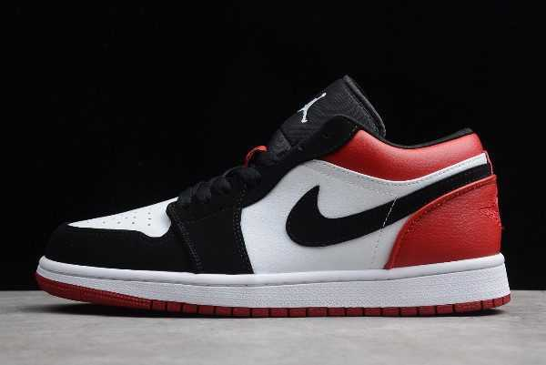 Air Jordan 1 Low Black Toe For Sale 553558-116