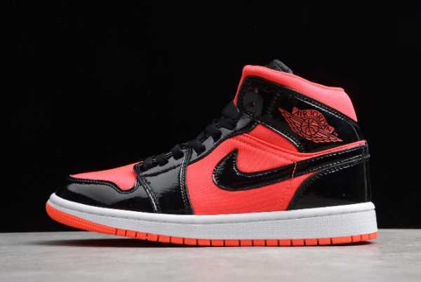 "2020 New Air Jordan 1 Mid ""Hot Punch"" BQ6472-600 For Sale"