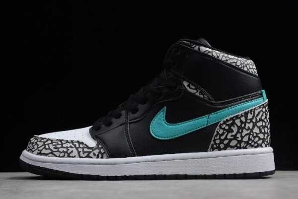 The Shoe Surgeon x Air Jordan 1 ' tmos Elephant' Print 838850-013