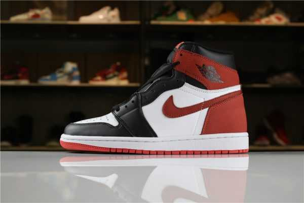 "Air Jordan 1 Retro High OG ""6 Rings"" Summit White/Black-Track Red 555088-112"
