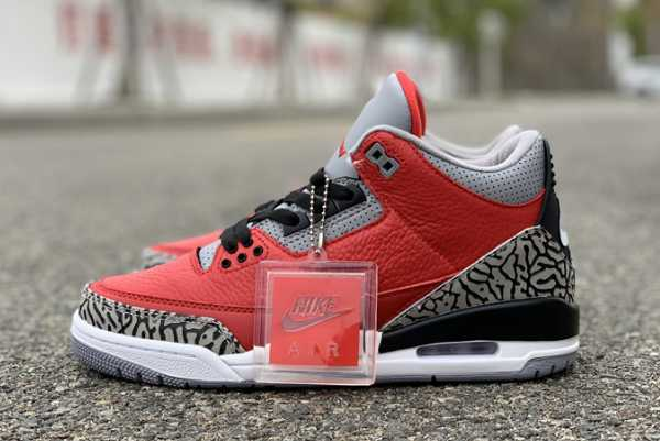 "2020 Air Jordan 3 SE ""Red Cement"" CK5692-600 For Sale"