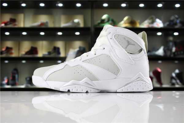 "Air Jordan 7 ""Pure Money"" White/Metallic Silver-Pure Platinum 304775-120"